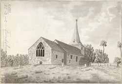 Frinsbury Church 1788 Feb